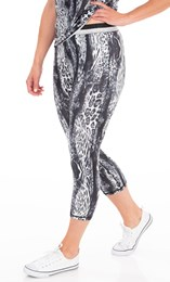 Animal Print Full Length Gym Leggings