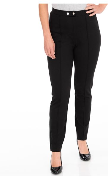 Ponte Pull On Slim Leg Stretch Trousers