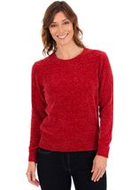 Long Sleeve Chenille Top