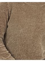 Long Sleeve Chenille Top Olive - Gallery Image 3