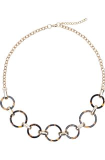 Tortoise Shell and Gold Coloured Chain