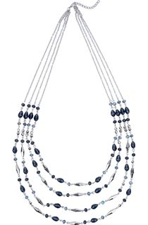 Multi-Layered Twinkle Bead Necklace