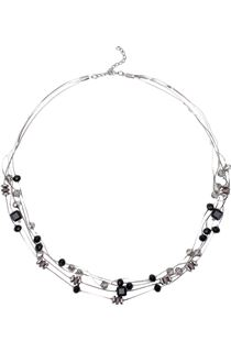 Multi-Layer Sparkle Beaded Necklace