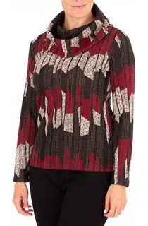 Anna Rose Cowl Neck Knit top