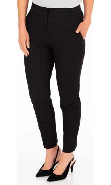 Anna Rose Tapered Leg Stretch Trousers
