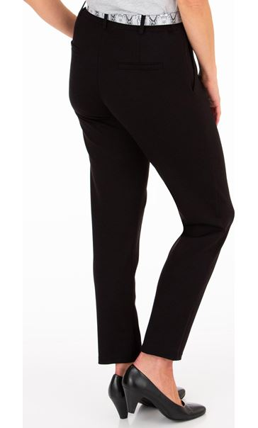 Anna Rose Tapered Leg Belted Trousers