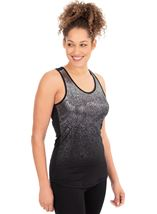 Ombre Racer Back Gym Vest Top
