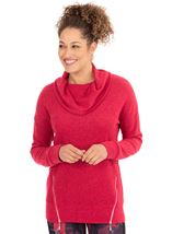 Cowl Neck Sports Top