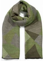 Printed Textured Scarf