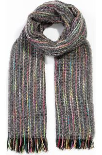 Multi Coloured Stripe Scarf - Multi