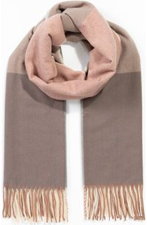 Colour Block Scarf - Pink