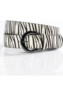 Zebra Printed Belt