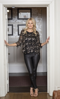 Sequin Fringed Mesh Sleeveless Top