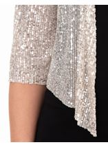 Sequin Mesh Cover Up Gold - Gallery Image 3