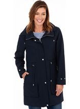 Hooded Lightweight Coat