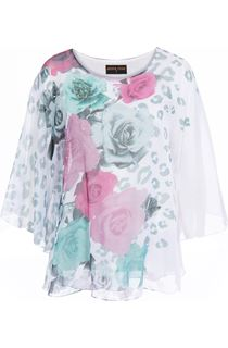 Anna Rose Embellished Floral Top