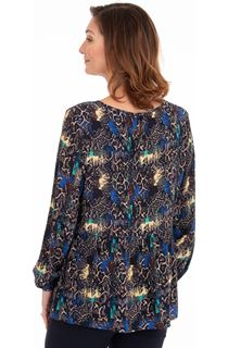 Printed Relaxed Fit Top