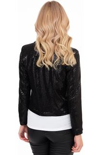 Long Sleeve Shimmer Jacket