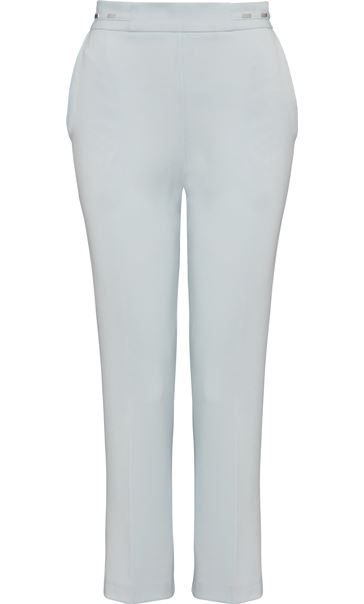 Anna Rose Straight Leg Trouser 27 inch Grey