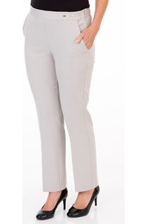 Anna Rose Straight Leg Trouser 27 inch - Sand