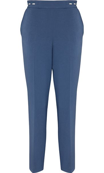 Anna Rose Straight Leg Trouser 29 inch Blue - Gallery Image 4