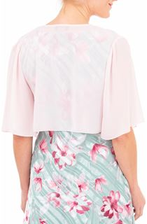 Anna Rose Chiffon Cover Up - Pink