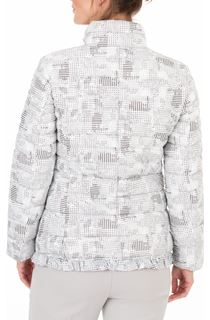 Anna Rose Check Quilted Coat