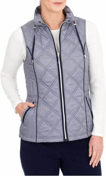 Anna Rose Gilet Navy - Gallery Image 1
