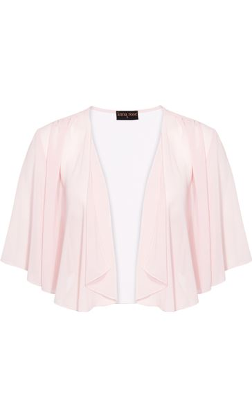 Anna Rose Open Chiffon Cover Up Pink - Gallery Image 4