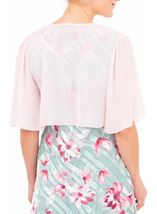 Anna Rose Open Chiffon Cover Up Pink - Gallery Image 2