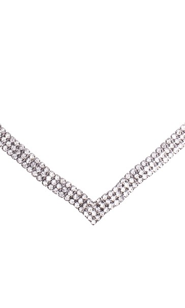 Sparkling Necklace Silver - Gallery Image 2
