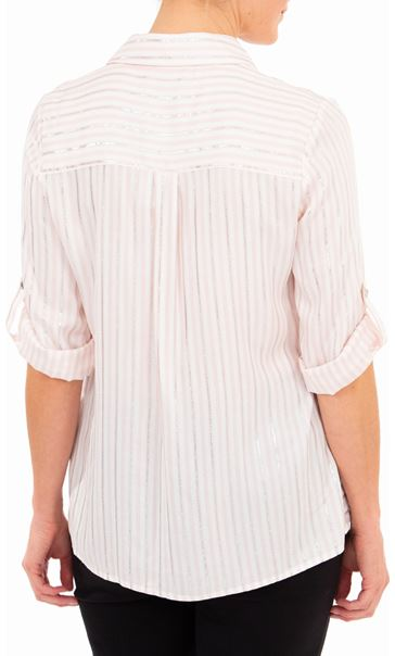 Anna Rose Striped Shirt