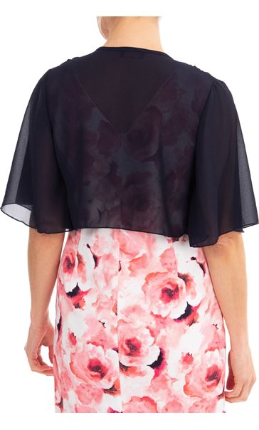 Anna Rose Open Chiffon Cover Up - Midnight