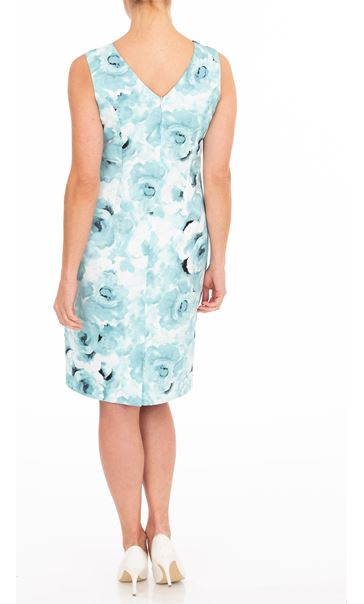 Anna Rose Sleeveless Printed Dress