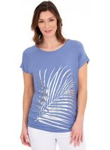Foil Printed Jersey Tunic