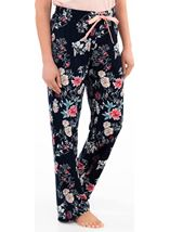Floral Print Pyjama Bottoms