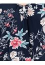 Floral Printed Nightdress Navy Floral - Gallery Image 3