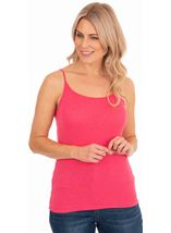 Adjustable Strappy Jersey Cami Top