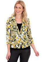Lemon Printed Jacket