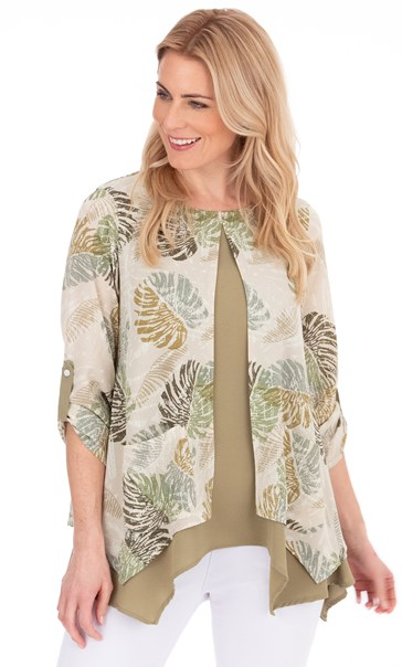 Double Layered Tunic