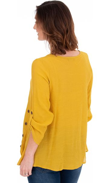 Oversized Crinkle Tunic - Pear