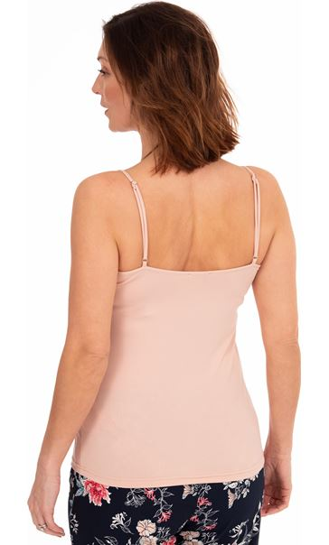 Loungewear Strappy Top Peach - Gallery Image 2