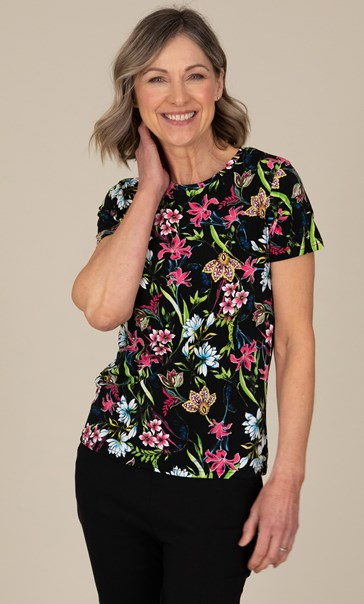 Anna Rose Floral Printed Top