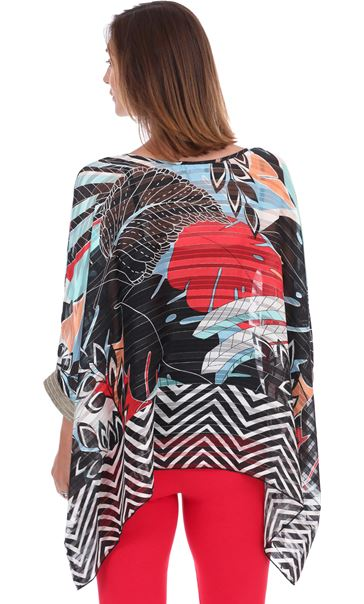 Relaxed Fit Printed Top