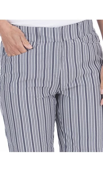 Striped Shorts Blue/White - Gallery Image 3