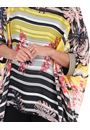 Relaxed Fit Printed Top Black/Sunflower - Gallery Image 3