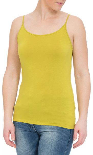 Camisole Top Lime - Gallery Image 2