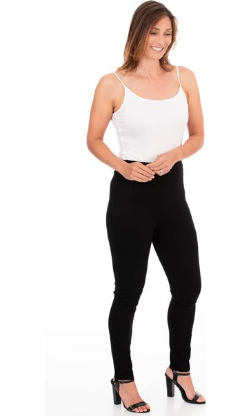 Full Length Ponte Leggings Black