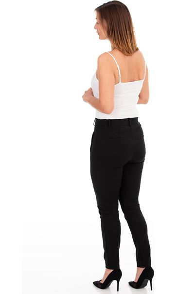 Fitted Stretch Trousers