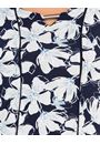 Anna Rose Floral Print Jersey Dress Midnight/Blue - Gallery Image 3